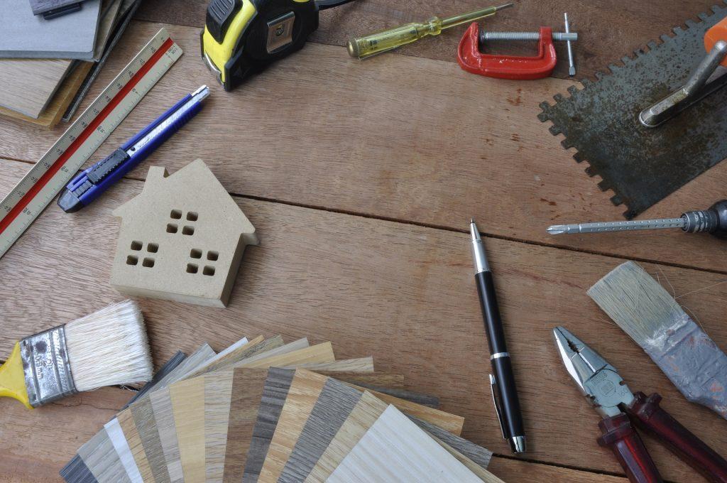 Planering av material vid renovering och annat hantverk