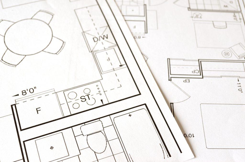 Köksinredning renovering planritning